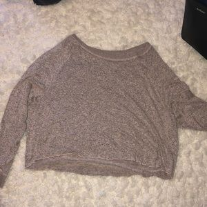Trendy Cropped Seasonal Sweater